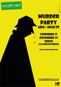 2019 murder party affiche A3